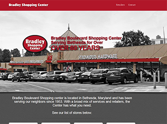 Maryland Shopping Center Web Design Company