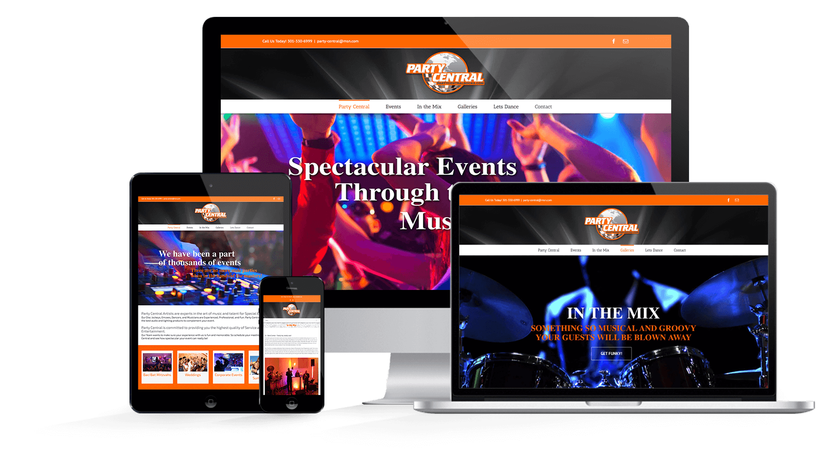 Multi-device-Responsive_Web_Design-Party_Central