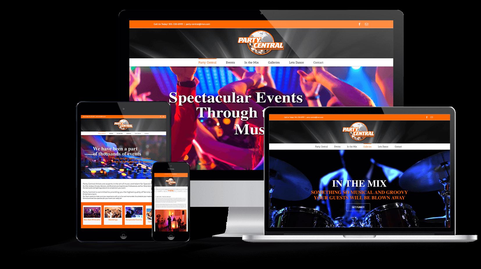 Multi-device-Responsive_Web_Design-Party_Central