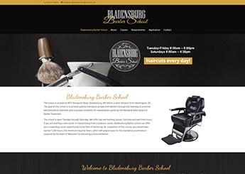 Maryland Barber Web Designer