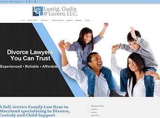 Maryland Legal Web Designer